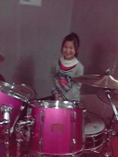 初!ドラム!