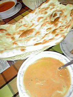 インド料理と授業参観