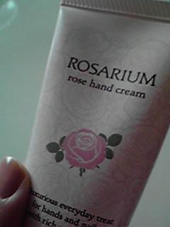 ローズハンドクリーム